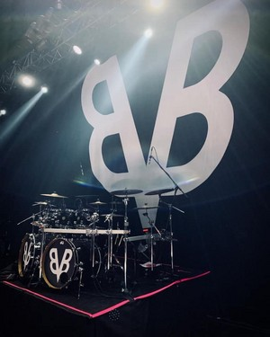 CC's kit - Black Veil Brides - El Plaza Condesa, Mexico - March 6, 2020
