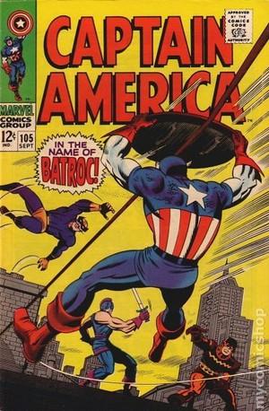 Captain America (1968) no 105
