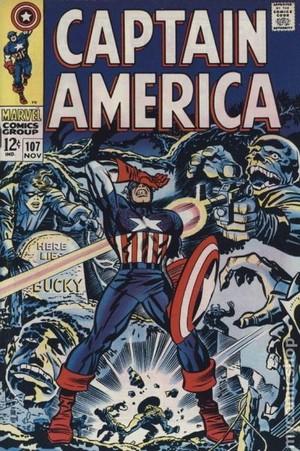 Captain America (1968) no 107