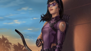 Concept Art for Hawkeye series (2021)