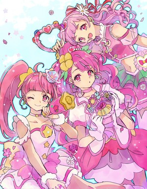 Cure Star, Cure Grace and Cure Yell