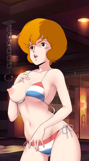 Dana Sterling swlm Bikini