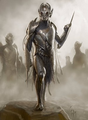 Dark Elves - Concept Art দ্বারা Charlie Wen