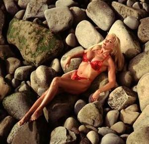 Debra - Red Bikini