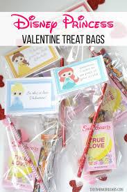 迪士尼 Princess Valentine Treat Bags