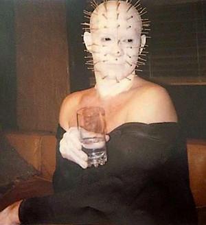 Doug Bradley In Makeup