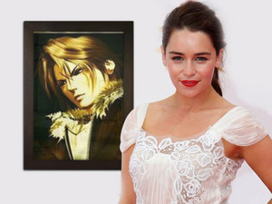 EMILIA CLARKE MOTHER DRAGON HATE FAKE FANS Squall Leonhart LIONHEART