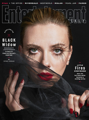 "Entertainment Weekly's exclusive ""Black Widow"" cover story"