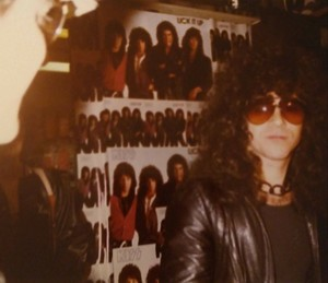 Eric ~Manhattan, New York...March 3, 1984 (Sam Goody)