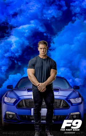 Fast and Furious 9 (2020) Character Poster - John Cena