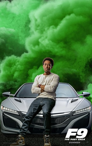 Fast and Furious 9 (2020) Character Poster - Ludacris as Tej Parker