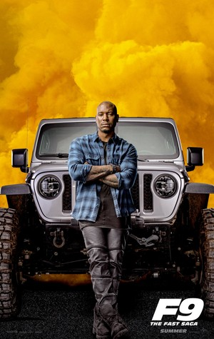 Fast and Furious 9 (2020) Character Poster - Tyrese Gibson as Roman Pearce