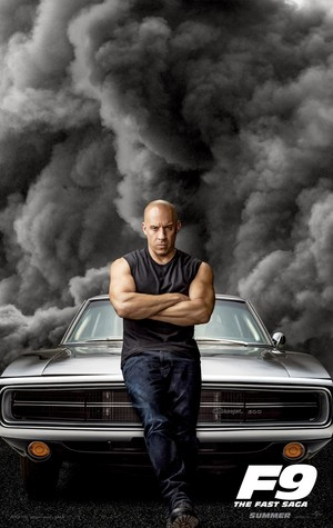 Fast and Furious 9 (2020) Character Poster - Vin Diesel as Dom Toretto