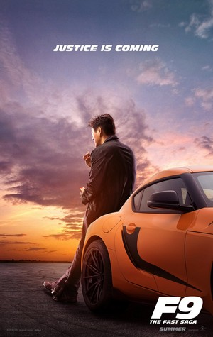 Fast and Furious 9 Poster - Sung Kang as Han
