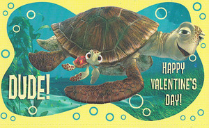 Finding Nemo - Valentine's Day Cards - Crush and Squirt