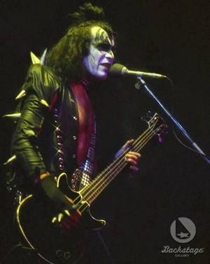 Gene ~Milwaukee, Wisconsin...February 4, 1976 (Alive Tour)