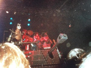 Gene and Eric ~Laguna Hills, California...March 25, 1983 (Creatures of the Night Tour)
