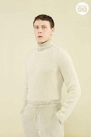 George MacKay - British GQ Photoshoot - 2020