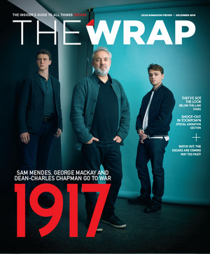 George MacKay, Dean-Charles Chapman and Sam Mendes - The Wrap Cover - 2019
