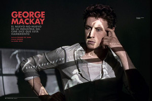 George MacKay - Esquire Spain Photoshoot - 2020