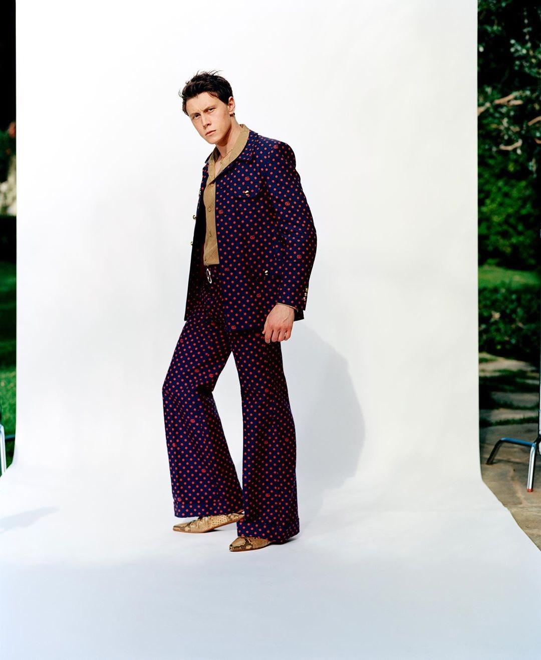 George MacKay - Interview Magazine Photoshoot - 2020