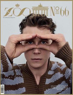 George MacKay - Zoo Magazine Cover - 2020
