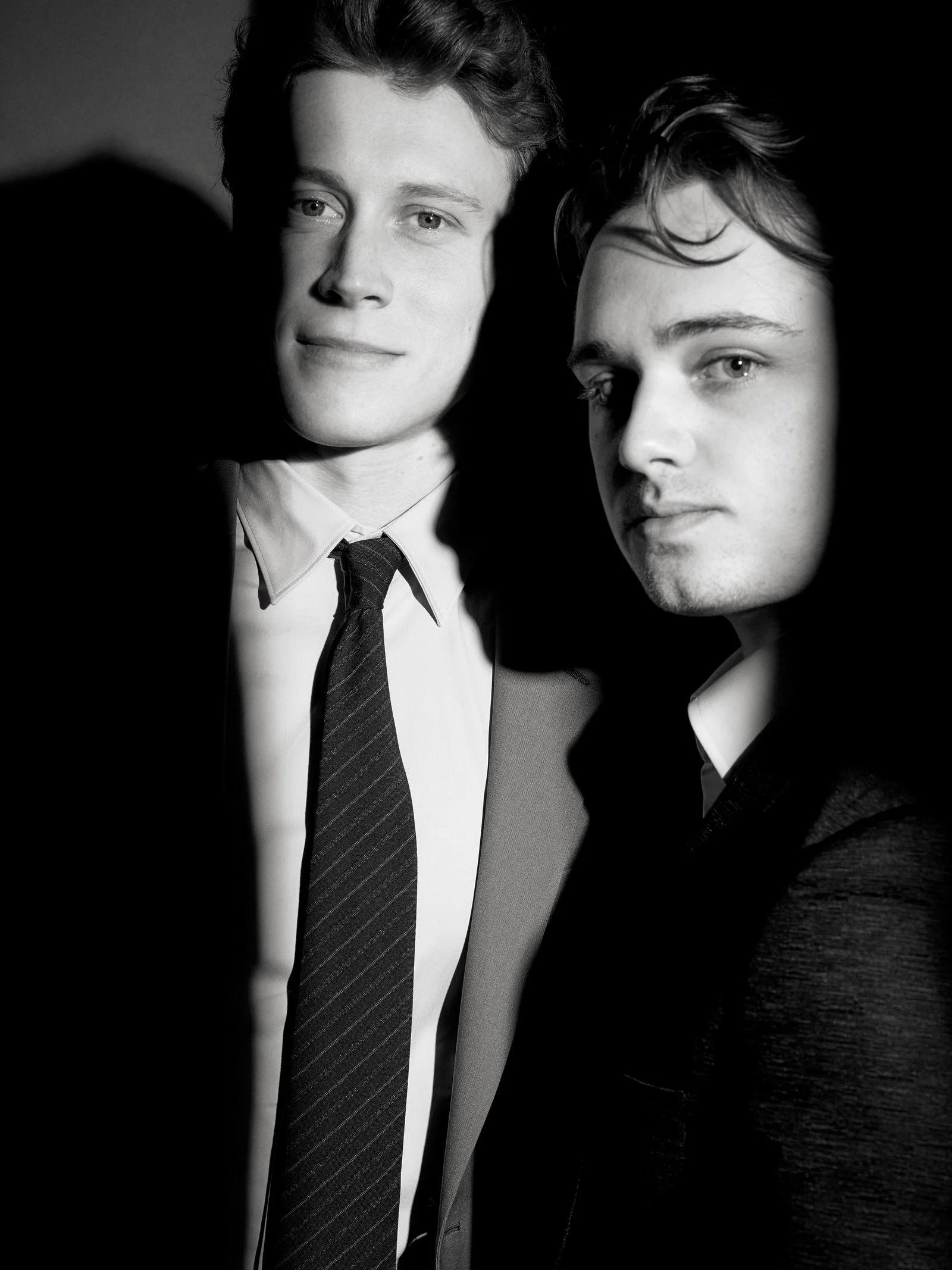 George MacKay and Dean-Charles Chapman - Vanity Fair Photoshoot - 2020