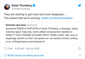Greta's Response
