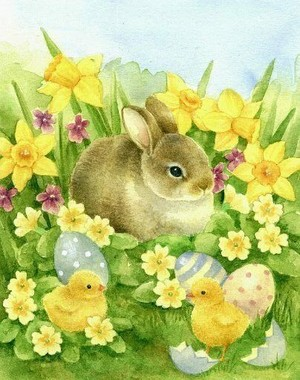 Happy Easter🐇🐣🙏🌷