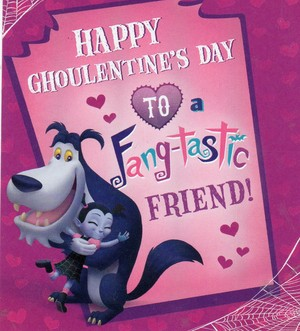 Happy Ghoulentine's 日 to a Fang tastic Friend?
