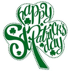 Happy St. Patrick's Day Mark and Sean! 🍀