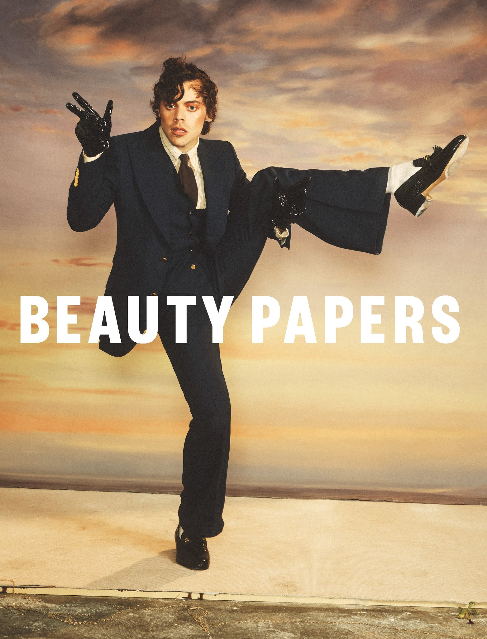 Harry For Beauty Papers Magazine