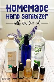 Homemade Hand Sanitizer Promo Ad