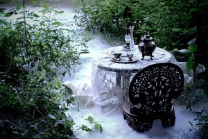 Gothic forest چائے party