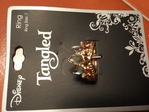 Rapunzel Tiara Ring