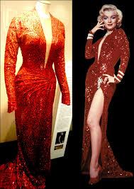 Iconic Red Dress Gentlman Prefer Blondes