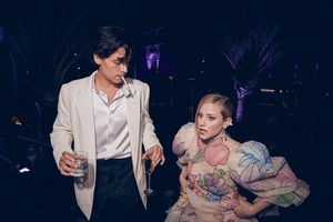 Inside the 2020 Vanity Fair Oscar Party: Cole Sprouse and Lili Reinhart