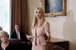 Ivanka at the White House ~ July 18, 2018