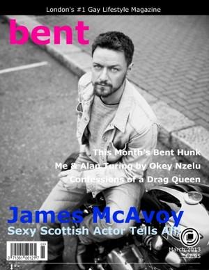 James McAvoy - Bent Magazine Cover - 2013