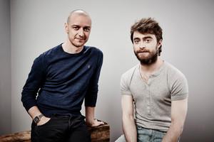 James McAvoy and Daniel Radcliffe - Comic-Con Portraits - 2015