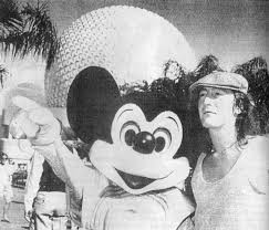 Julian Lennon In Disney World