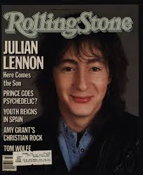 Julian Lennon On The Cover Of Rolling Stone