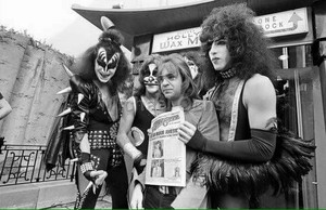 KISS ~Hollywood, California…February 24, 1976 (Grauman's Chinese Theater)