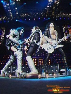 키스 ~Melbourne, Australia...April 4, 2001 (Farewell Tour)