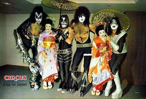 KISS ~Tokyo, Japan...March 24-April 2, 1978 (Alive II Tour)