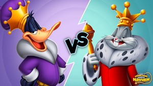 King Daffy eend vs. King Bugs Bunny - World of Mayhem