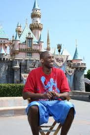 Kobe Bryant In Disneyland