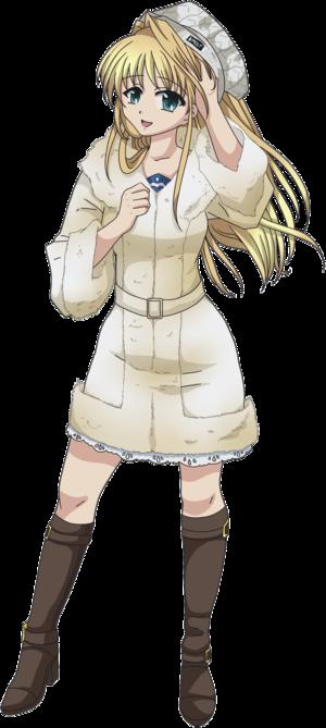 Konami Hatano's Winter Style (BilkaysSAS - Vector 1)