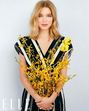 Lea Seydoux - Elle China Photoshoot - 2020