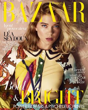 Lea Seydoux - Harper's Bazaar Cover - 2020